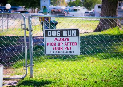 Dog-Run-Sign